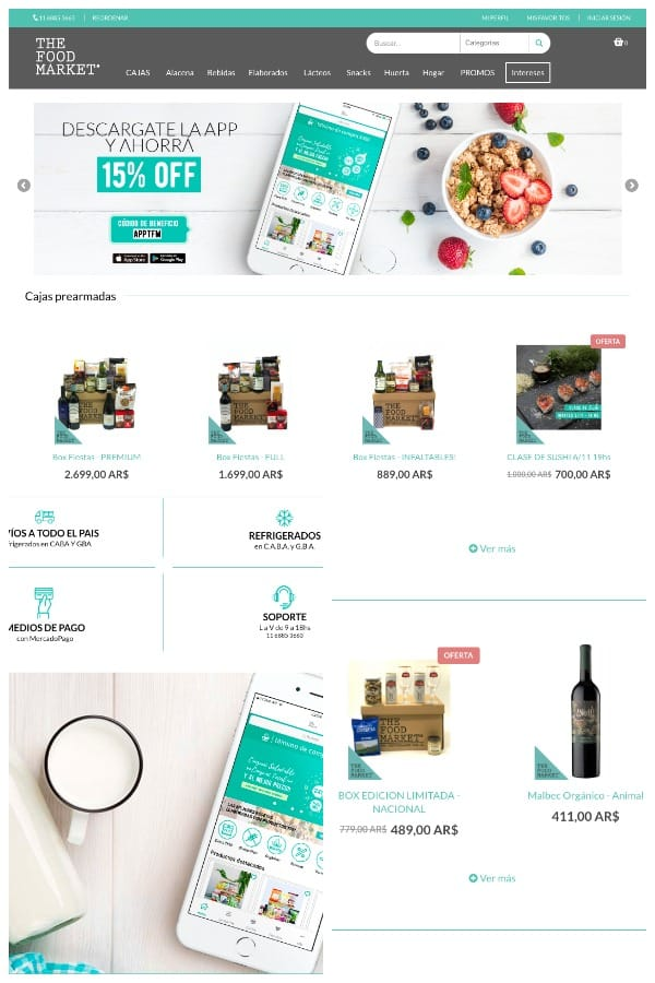 the food market magento